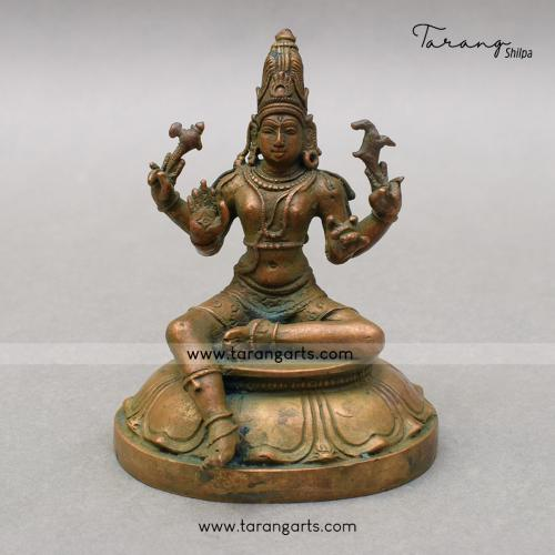 SHIVA PANCHALOHA IDOL	ANTIQUE FINISH