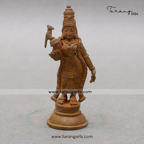 MEENAKSHI PANCHALOHA IDOL ANTIQUE FINISH