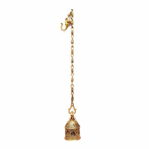 BRASS DASAVATHARA HANGING BELL