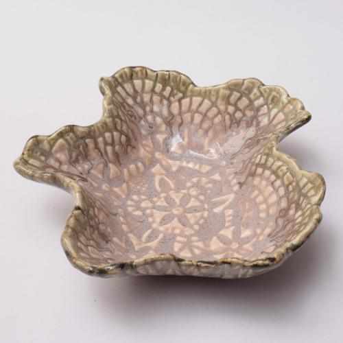 CERAMIC LEAF BOWL HANDMADE