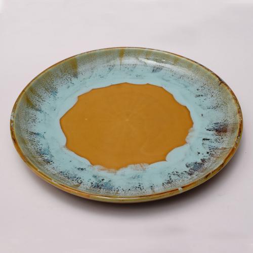 CERAMIC PLATE HAND MADE