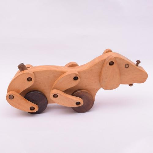 DOG HANDCRAFTED WOODEN TOY