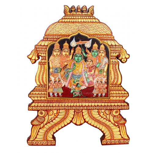 RAMAR PATTABISHEGAM TEMPLE PAINTING