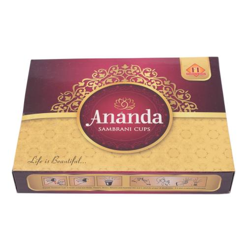 ANANDA SAMBRANI INCENSE CUPS