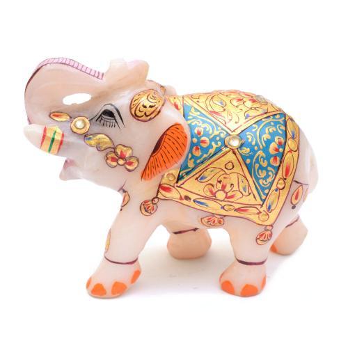 MARBLE STATUE ELEPHANT
