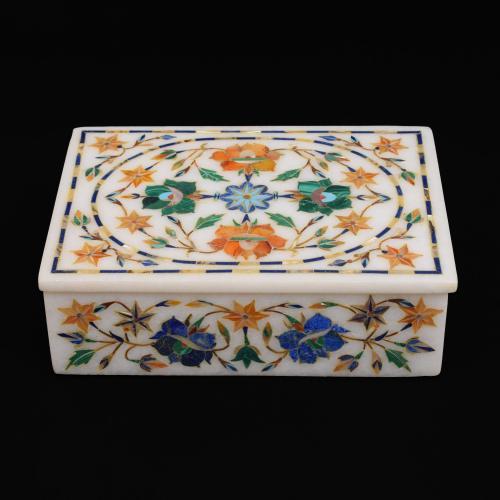 MARBLE JEWELLERY BOX