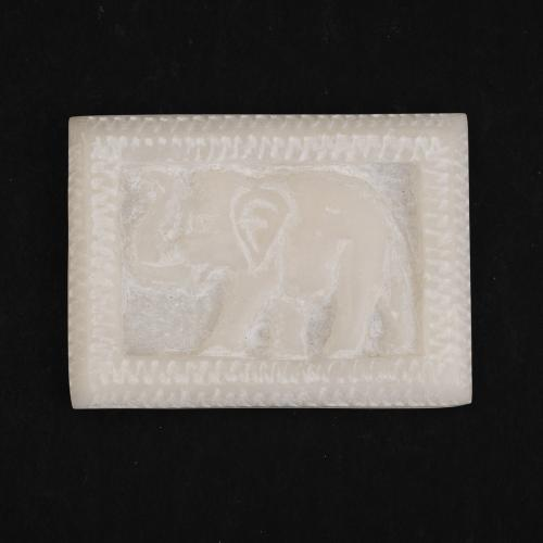 MARBLE ELEPHANT PAPER WEIGHT
