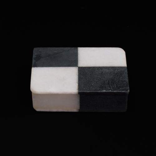 MARBLE BLACK AND WHITE BOX