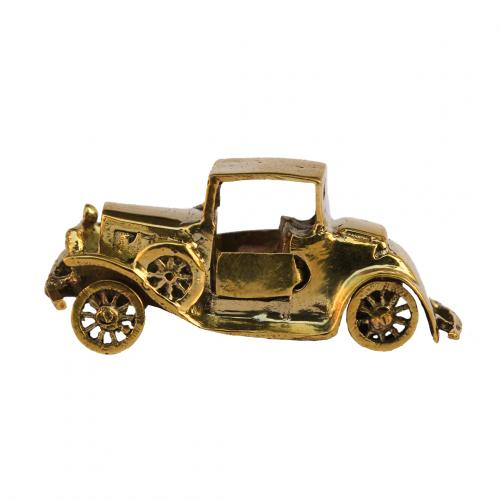 FORD VINTAGE CAR BRASS MINIATURE TOY