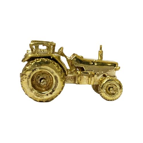 TRACTOR BRASS MINIATURE TOY