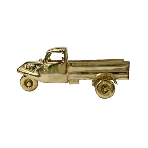 CARGO AUTO BRASS MINIATURE TOY