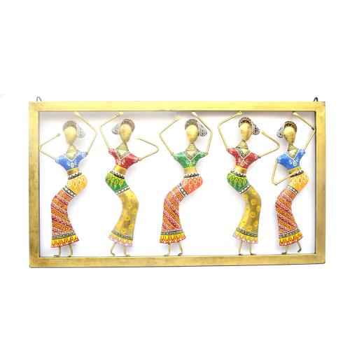 DECORATIVE  HANGING LADY WALL PANEL FOR HOME DECOR