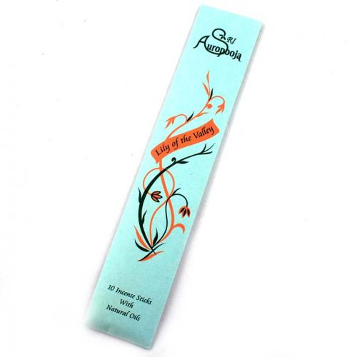 INCENSE PACK 10 STICKS PACKED LILY OF THE VALLEY
