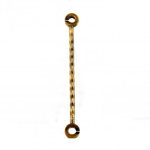 LONG TWISTED BRASS LINK ANTIQUE HOME DECOR TARANG HANDICRAFTS