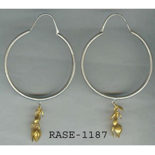 SILVER GP EARRINGS